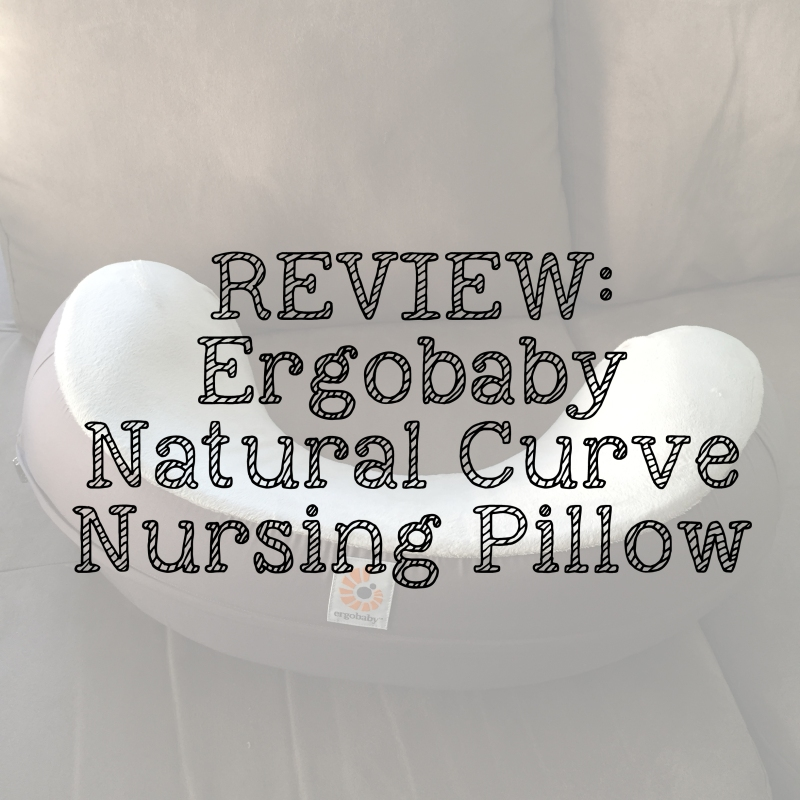 Product Review Ergobaby Nursing Pillow